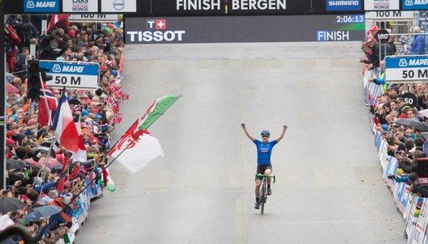 Championnat du Monde de Cyclisme sur Route, à Bergen, en Norvège !...