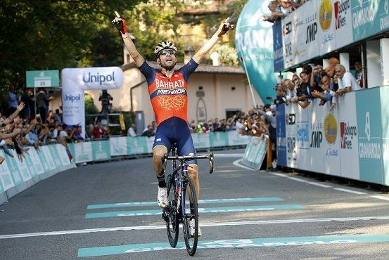 Giovanni Visconti remporte le 100 ème Tour d'Émilie !...