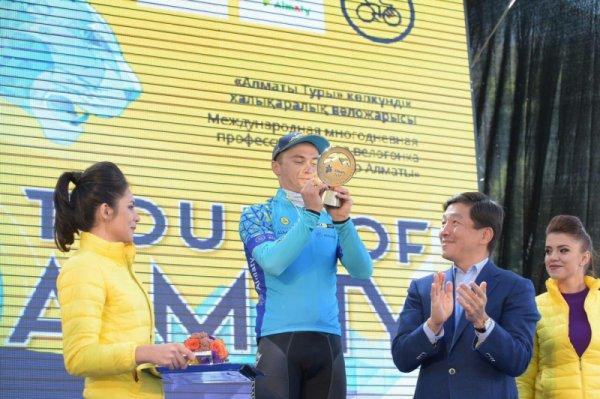 Alexey Lutsenko remporte le 5 ème Tour d'Almaty !...