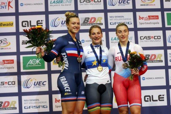 Championnats d'Europe de Cyclisme sur Piste, à Berlin, en Allemagne !...