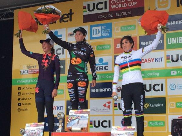 Mathieu Van Der Poel et Maud Kaptheijns remportent la 3 ème manche de la Coupe du Monde de Cyclo-Cross, à Coxyde, en Belgique !...