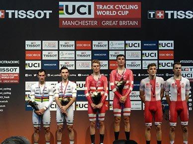 2 ème manche de la Coupe du Monde de Cyclisme sur Piste, à Manchester, en Angleterre, au Royaume-Uni !...