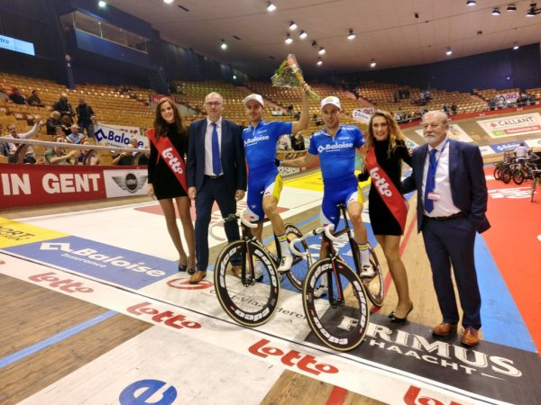 Kenny De Ketele et Moreno De Pauw remportent la 77 ème édition des Six Jours de Gand !...