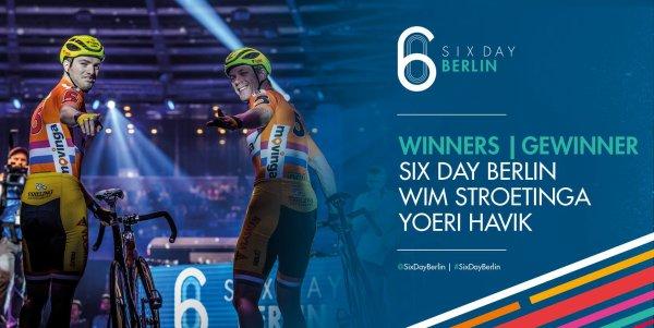 Yoeri Havik et Wim Stroetinga remportent la 107 ème édition des Six Jours de Berlin !...