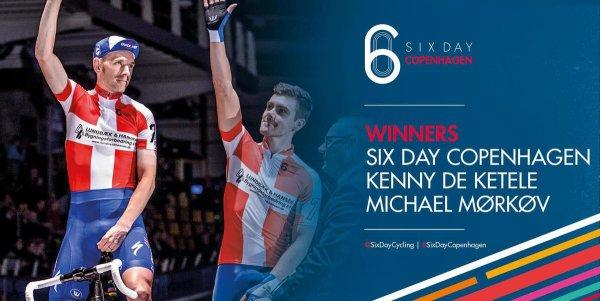 Michael Mørkøv et Kenny De Ketele remportent la 56 ème édition des Six Jours de Copenhague !...