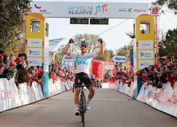 Michał Kwiatkowski remporte le 44 ème Tour de l'Algarve !...