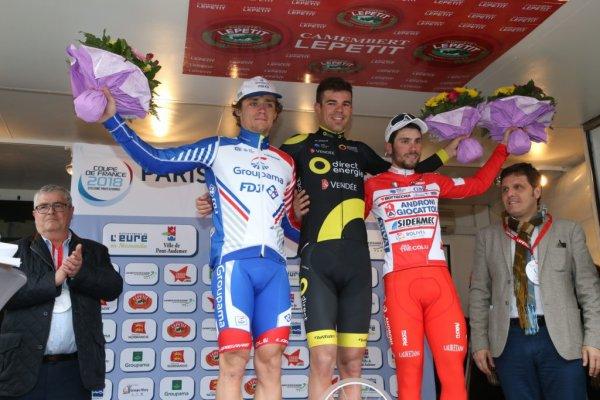 Lilian Calmejane remporte le 79 ème « Paris - Camembert » !...