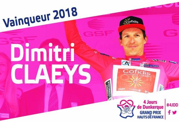 Dimitri Clays remporte les 64 èmes « Quatre Jours de Dunkerque » !...