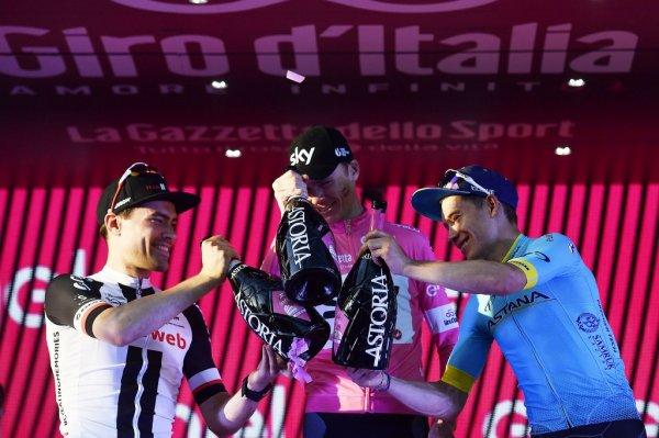 101 ème Tour d'Italie : Le bilan au soir du dimanche 27 mai 2018, fin de la 3 ème et dernière semaine de course !...