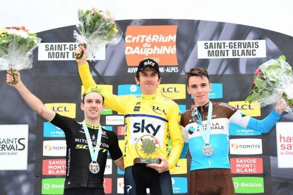 Geraint Thomas remporte le 70 ème Critérium du Dauphiné !...