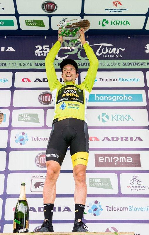 Primo¸ Roglič remporte le 25 ème Tour de Slovénie !...