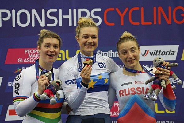 Championnats d'Europe de Cyclisme sur Piste, à Glasgow, en Ecosse, au Royaume-Uni !...