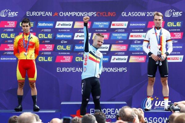 Championnats d'Europe de Contre-la-Montre Individuel, à Glasgow, en Ecosse, au Royaume-Uni !...