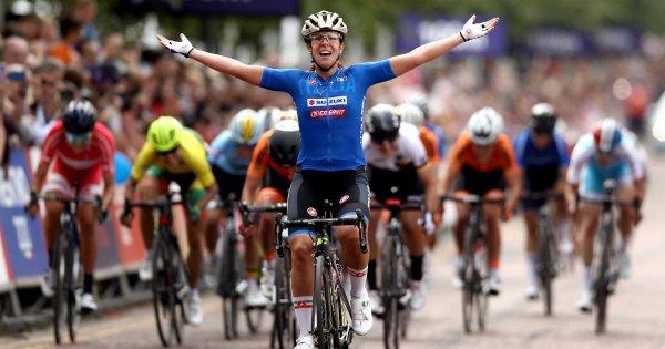 Championnats d'Europe de Cyclisme sur Route, à Glasgow, en Ecosse, au Royaume-Uni !...
