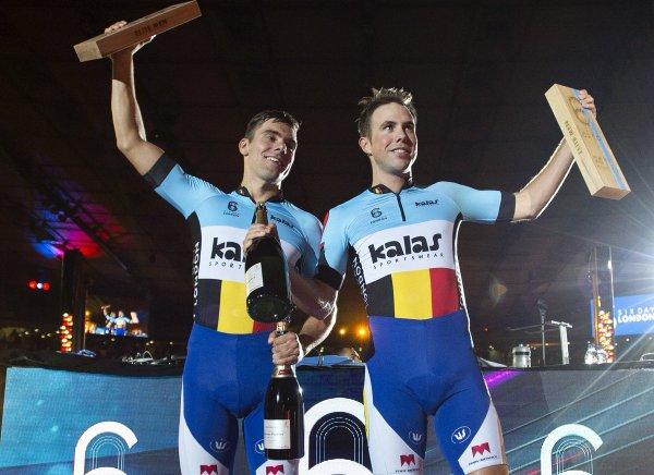 Kenny De Ketele et Moreno De Pauw remportent la 57 ème édition des Six Jours de Copenhague !...