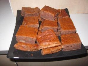 Brownies chocolat-banane