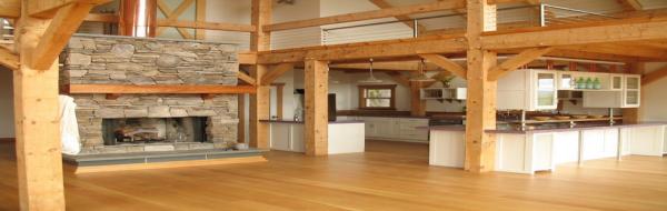 Maisons bois et intérieur