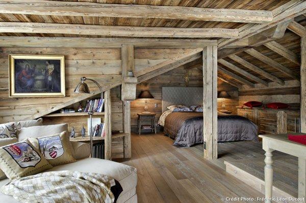 En Suisse, un chalet authentique et tout confort