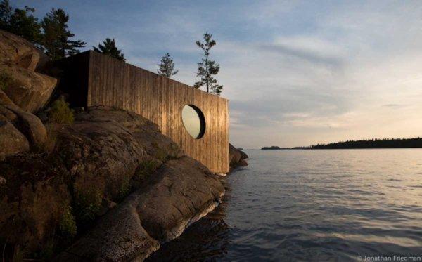 Canada  -  Sauna Grotto par Partisans