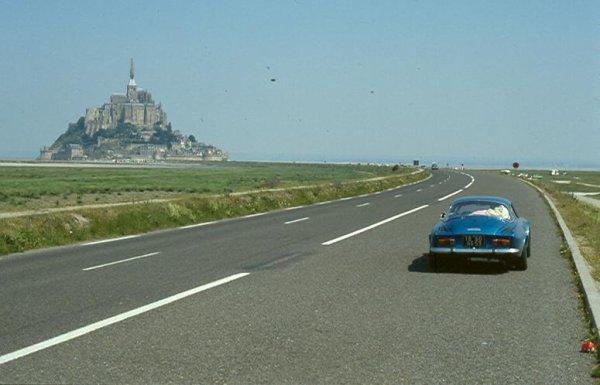 1987 vacances en Bretagne en ALPINE