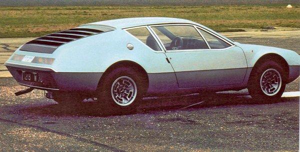 1971 C'est aussi la naissance de l'ALPINE A310
