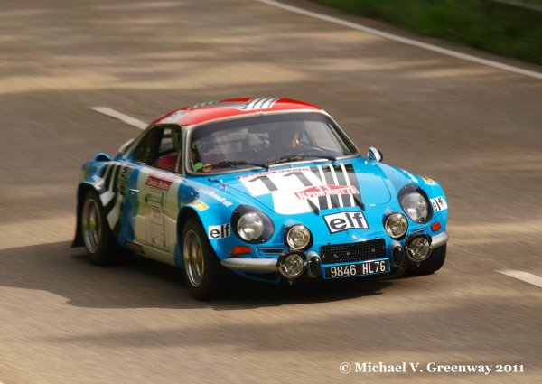 1973 Championne du monde des rallyes