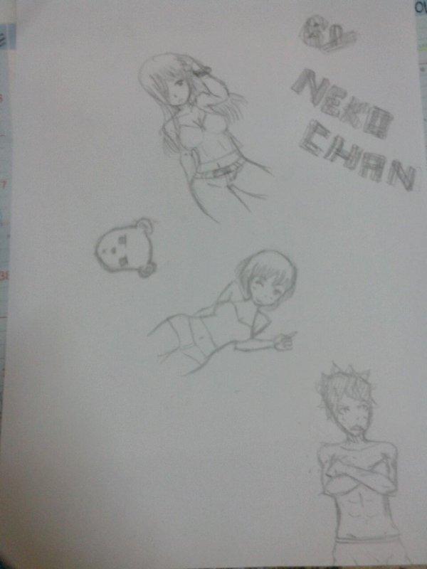 Nouveaux dessins ^^