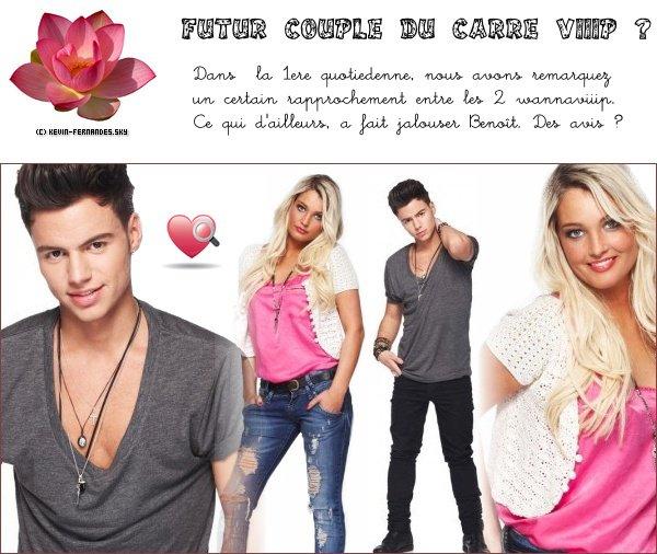 Aurélie et Kévin ; un futur couple ?