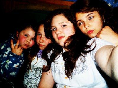 mes trois couz et ma soeur
