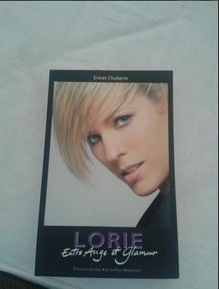 """livre de lorie """" Entre Ange et Glamour"""""""