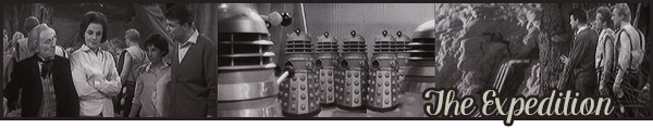 "#   The Daleks  ( partie 02 saison 01 ) : "" There is no indignity in being afraid to die, but there is a terrible shame in being afraid to live. """