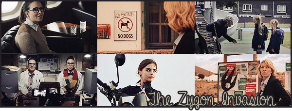 """#Article 09x07: """" You want to know who I am, Doctor? I am the peace. I am human and Zygon """""""