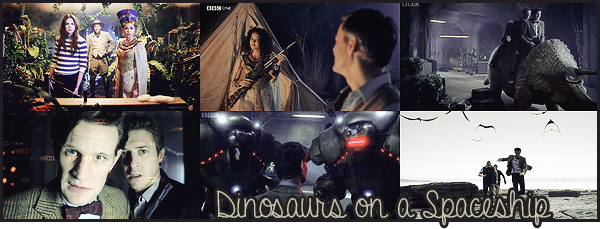 "#  Article 07x03 : "" Are you saying that dinosaurs are flying a spaceship ? "" [/align/]"