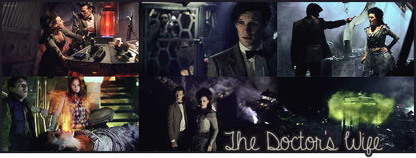 "#  Article 06x05 : ""  Time And Relative Dimension In Space. Yes, that's it. Names are funny. It's me. I'm the Tardis. """