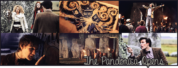 "#  Article 05x12 : "" Hello, Stonehenge ! Who takes the Pandorica, takes the universe ! """