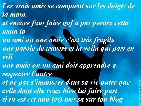Lll Beau Message Damitié Sur Le Blog De Mon Ami Ll