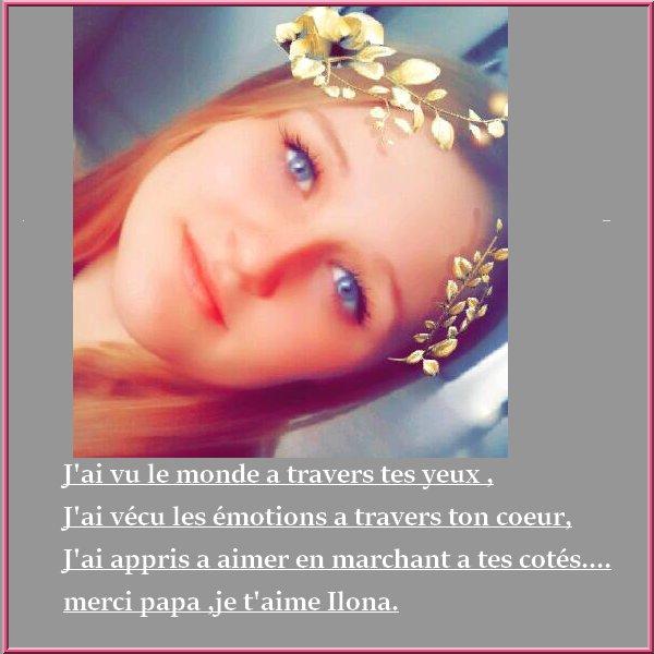 """)(l)(l)(l) Message d""""Ilona )(l)(l)(l)"""