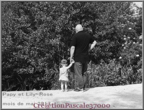 (l)(l)(l) Lily-Rose et son papou...(l)(l)(l) .