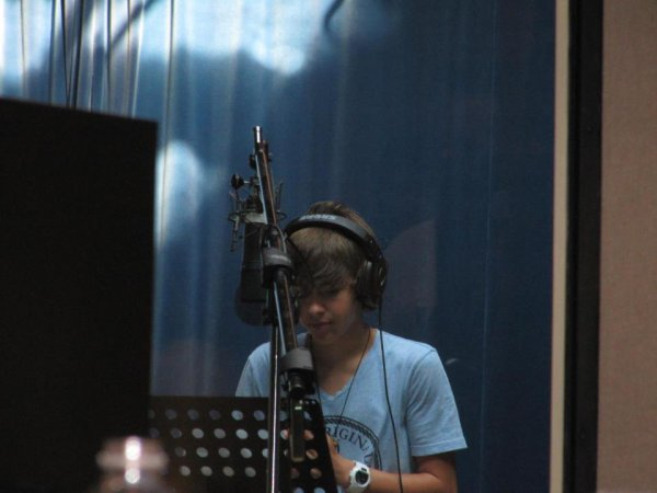 Jacob en studio :)