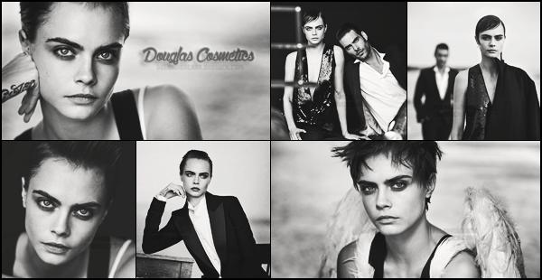 - ▬ Cara Delevingne pour la collection « Douglas Cosmetics » par Peter Lindbergh, mai 2018 !-
