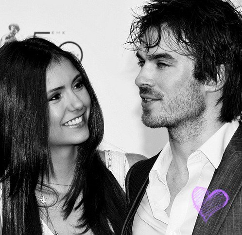 Ian somerhalder & Nina Dobrev ♥