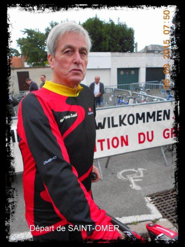 """Brevet """"sur la route du Gris-Nez - dimanche 06/09"""