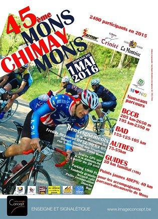 Dimanche 1er Mai ( Mons-Chimay-Mons )
