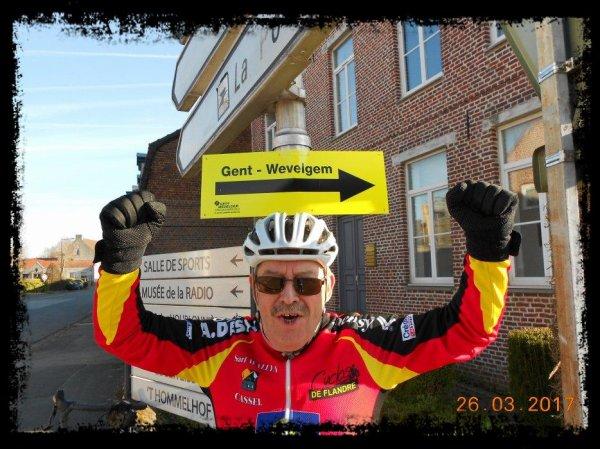 """Sortie club du dimanche 26/06/17 - """"sur la route de Gand/Wevelgem"""""""