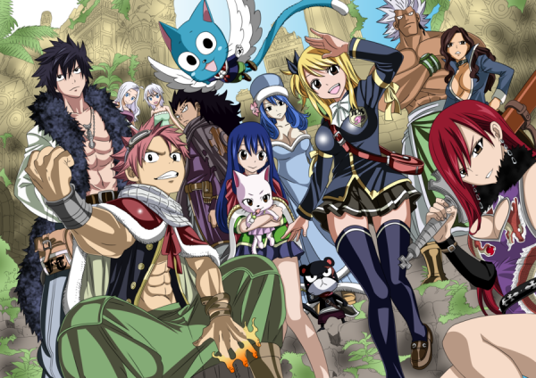 Fairy Tail ! Ma nouvelle passion ! <3
