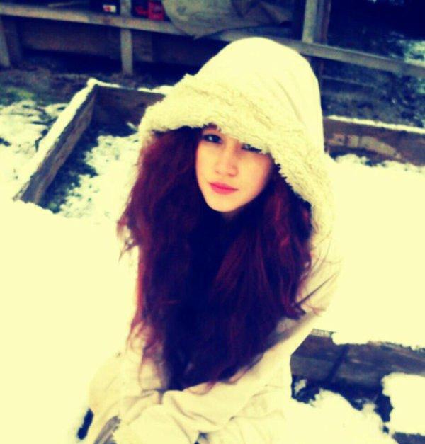 la neige c'est cool mais à 2 c'est mieu!
