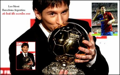 "Ballon d'Or 2009-2010 ""Leo MESSI"""