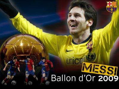 "Ballon d'Or 2009 ""Lionel MESSI"""