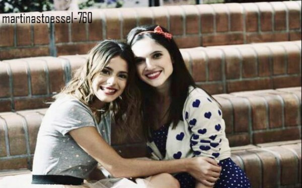 Photo exclusive de : Martina Stoessel ( Violetta) & Lodovica
