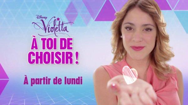 Dès lundi prochain, rendez-vous sur http://disneychannel.fr/ pour décider de la saison 3 de Violetta : http://po.st/r7GnXM !